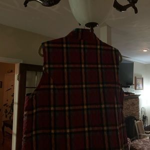 Jackets & Coats - Super cute lightweight plaid vest